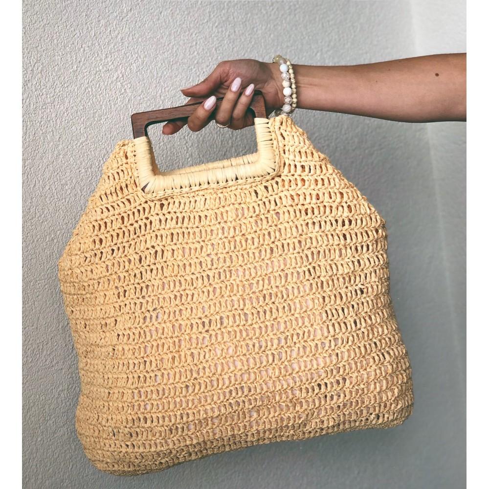 Мастеркласс Пляжная сумка из рафии